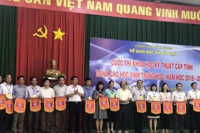 Cuộc thi KHKT cấp tỉnh năm học 2018 – 2019