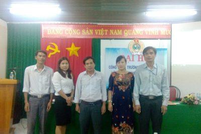 Đại hội công đoàn THPT Gia Nghĩa nhiệm kỳ 2017 – 2022