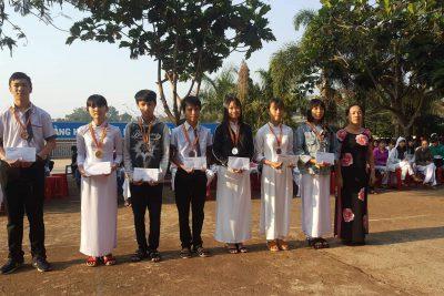 Vinh danh các học sinh đạt giải kỳ thi Olympic 23/3 cấp tỉnh lần thứ VI – năm 2019