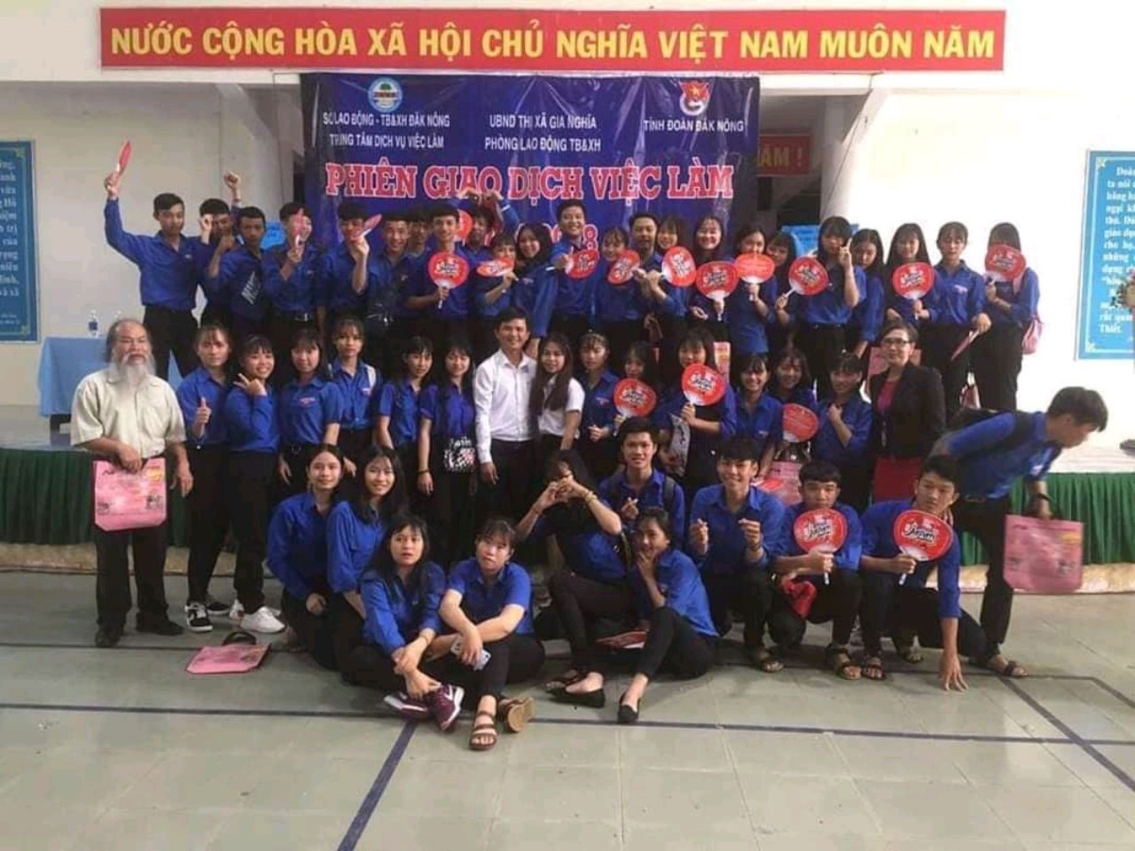 Đoàn viên – thanh niên tiêu biểu tham gia Hội chợ việc làm tỉnh Đăk Nông năm 2018